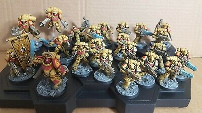 Warhammer 40k Dark Imperium Painted Primaris Space Marines Imperial fist