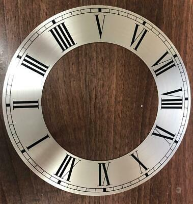 Hermle Kieninger Dial Silver Clock Dial Clock Chaptering for different clocks