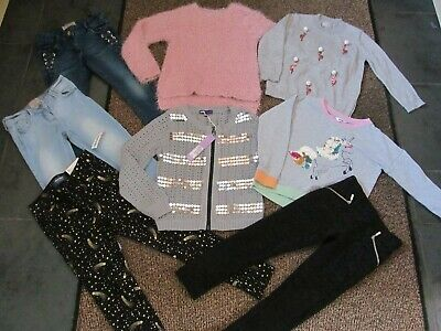 girls size 5-6 years winter clothing bundle, new items included