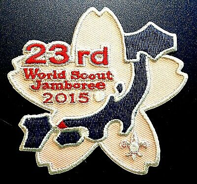 Rare 23Rd - 2015 Wsj World Scout Jamboree Official Patch Badge Usa Bsa 2019 2023