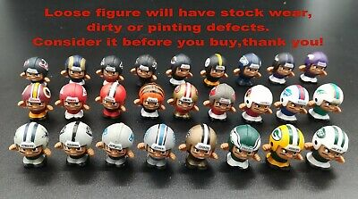 LOT of 26 Teams Teenymates NFL Series 4 Defensive Lineman Figure Collection Toys