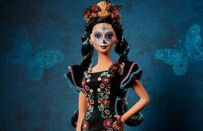 Barbie Dia De Los Muertos Doll 2019 Day of The Dead ** IN HAND READY TO SHIP**