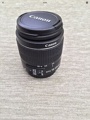 Canon EF S 18 55 mm f3 5 5 6 is stm Lens
