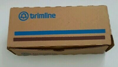 Vintage Nos Western Electric Ac2P-56 Yellow Trimline Wall Telephone Base Only