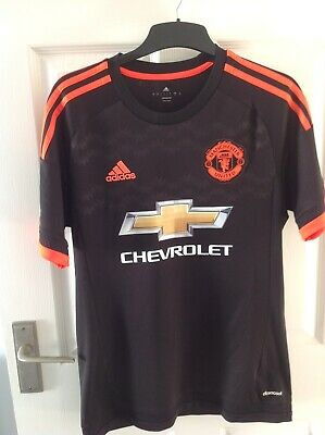 Manchester United 2015/16 Small Mens Away third 3rd 15/16 football shirt