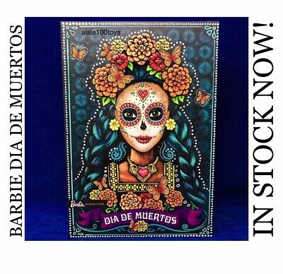 Barbie Dia De Los Muertos Signature Series Day Of The Dead In Stock Ships Now!