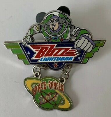 Disney World - Buzz Lightyear Space Ranger Spin - Toy Story Dangle Pin