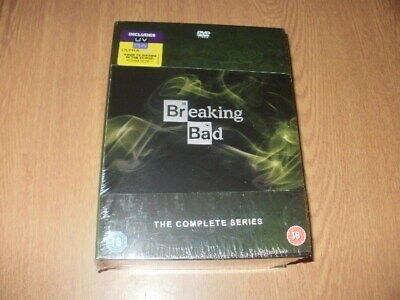 Breaking Bad - The Complete Series  DVD Box Set **NEW & SEALED**