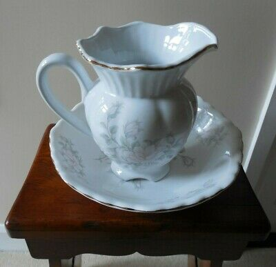 Victorian Style, Staffordshire Maryleigh Pottery, Washing Bowl & Water Jug