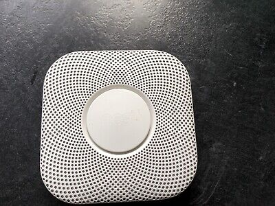 Nest S3003LWGB Protect 2nd Generation Smoke and Carbon Monoxide Detector Alarm -
