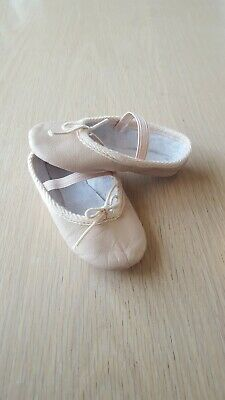 Roch Valley Ballet Shoes Infant Size 6 Pink Leather Baby Ballet Great Condition