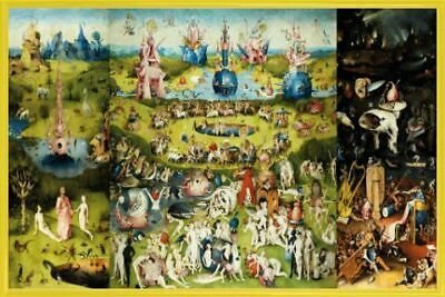 Fine Art Print//Poster 3587 The Concert in the Egg Hieronymus Bosch
