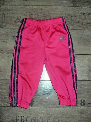 Adidas girls joggers size 9-12 months