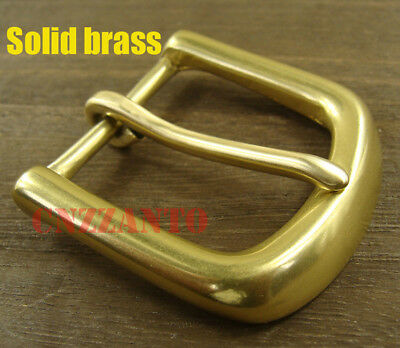 Heavy duty Solid Brass Vintage Classical Tongue Pin Hippie Belt Buckles Z246