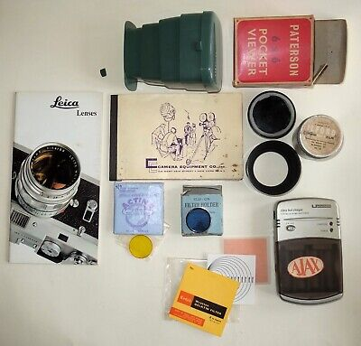 Photographic Bits And Pieces - Job Lot