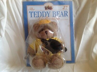 The Teddy Bear Collection Magazine complete with Cuddly No.27 Bert the Builder
