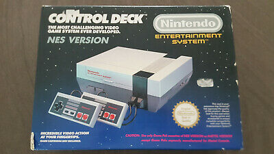 Nintendo Entertainment System - NES Control Deck Console- Good Condition- UK Pal