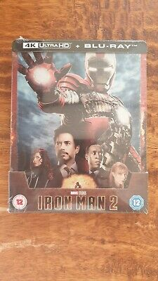 Bluray Steelbook 4K + 2D Iron Man 2, avec VFF.