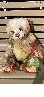 Charlie Bear Needs A New Home! Toffee apple. Pre-owned Fantastic Condition
