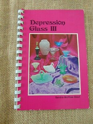 Depression Glass III  by Barbara McPhee Stout Vtg 1982 5th Printing