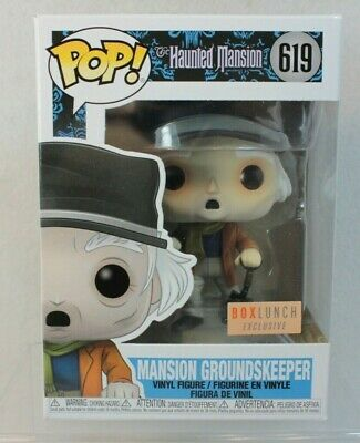 Funko Pop Box Lunch Exclusive MANSION GROUNDSKEEPER Vinyl Figure 619 Haunted