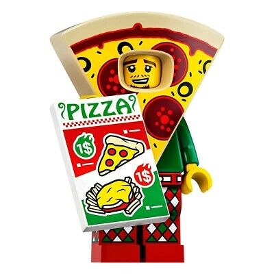 pizza costume guy avec sachet lego Mini figurine serie 19 71025