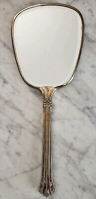 """Vintage 12"""" VANITY Hand Mirror - Classic Period Styling - Probably not enchanted"""