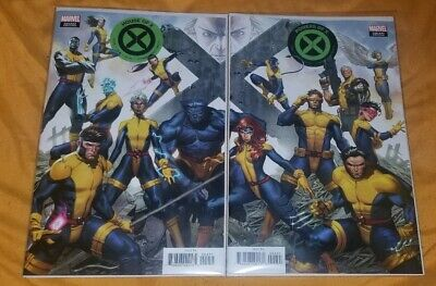 House Of X #4 & Powers Of X #4 Molina Connecting Covers