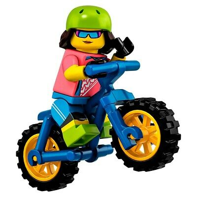 moutain biker avec sachet lego Mini figurine serie 19 71025