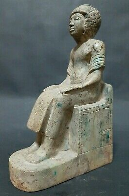ANCIENT EGYPTIAN ANTIQUES Rare Egypt Statue Of Egyptian King EGYPT Stone 1810 BC