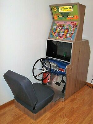 1959 Capital Projector Auto Test Animated Driving Arcade Machine-FULLY RESTORED!