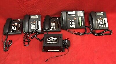 NORTEL NORSTAR COMPACT TELEPHONE SYSTEM ICS/CICS VOICE w/ 5 PHONES FREE SHIPPING