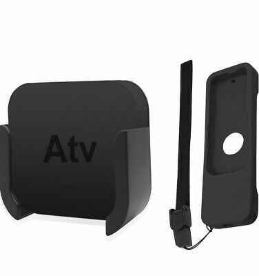 Apple Tv Wall Mount For 4th And 5th Generation Plus Remote Cover