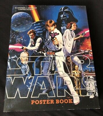 Star Wars Poster Book By Sansweet and Vilmur 2005 Hardcover Episodes 1-6 Lucas