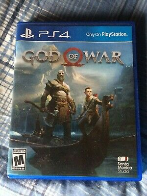 God of War (Sony PlayStation 4, 2018) PS4 MINT FREE SHIPPING