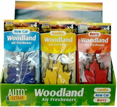 Auto Extras Assorted Woodland Car Air Fresheners