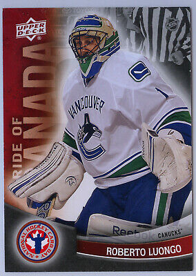 ROBERTO LUONGO 2011/12 Upper Deck NATIONAL HOCKEY CARD DAY PRIDE OF CANADA #8