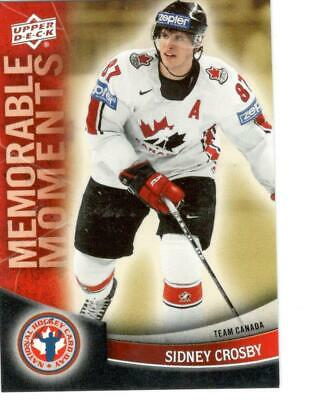 Sidney Crosby 2011/12 Ud National Hockey Card Day Memorable Moments Card #16
