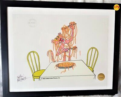 Pink Panther cel Limited Edition