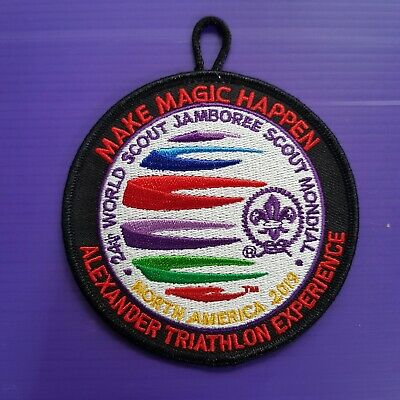 24th World Scout Jamboree 2019 IST OFFICIAL PATCH / MAXE MAGIC HAPPEN badge