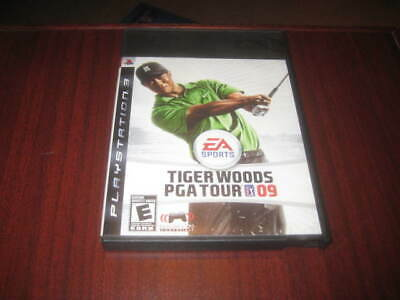 Tiger Woods PGA Tour 09 Playstation 3 PS3 - Mint Condition
