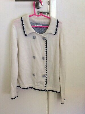 Lovely Girls Chino Brand Knit Jumper/Cardigan - Size 8