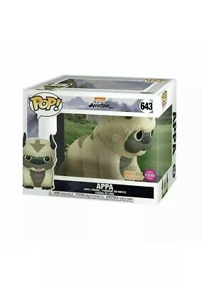"Funko Pop Avatar The Last Airbender 6"" Flocked Appa Box Lunch Exclusive PREORDER"