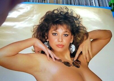 MARIA WHITAKER Topless PANTY Poster 1987 England NICE BIG ONES! Rolled