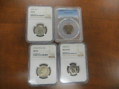Graded coin lot! US coin collection! WE COMBINE SHIPPING!!