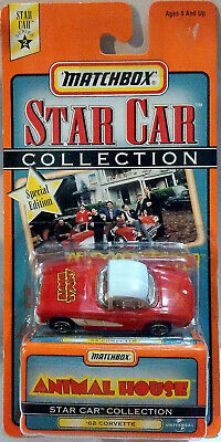 1997 Matchbox Star Car Collection Animal House 1962 Corvette Mint In Box