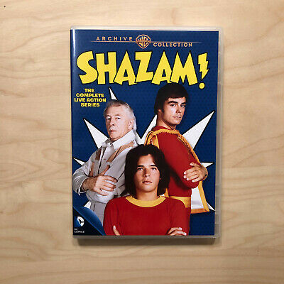 Shazam: The Complete Live Action 1974 Series (DVD 3-Disc) All 28 episodes!