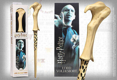Harry Potter Lord Voldemort PVC 30cm Wand Replica & Bookmark Noble NN6317