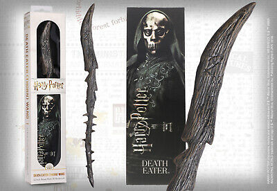 Harry Potter Death Eater Thorn PVC 30cm Wand Replica & Bookmark Noble NN6318