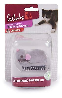 Electronic Mouse Toy Motion Dash Cats Petlinks Roaming Runner